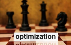 SEO Chess Optimization concept